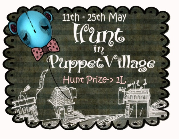 Hunt in Puppet village-poster